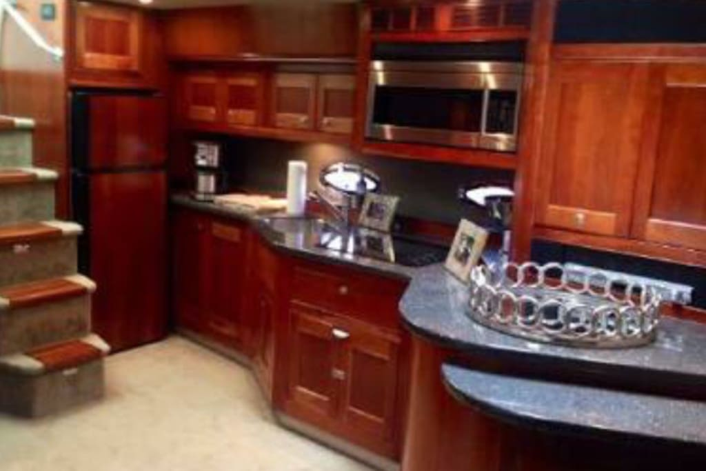 Kitchen with dishwasher and convection oven