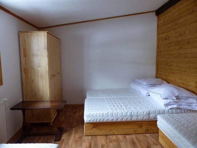 Ubytování v apartmánu v chatě u horské řeky