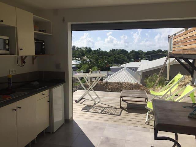 Appartement neuf proche plage des raisins clairs