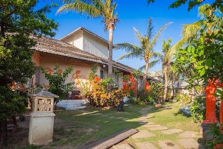 ★1min by walk to Bus Stop # Bali Style 15 - Pingtun