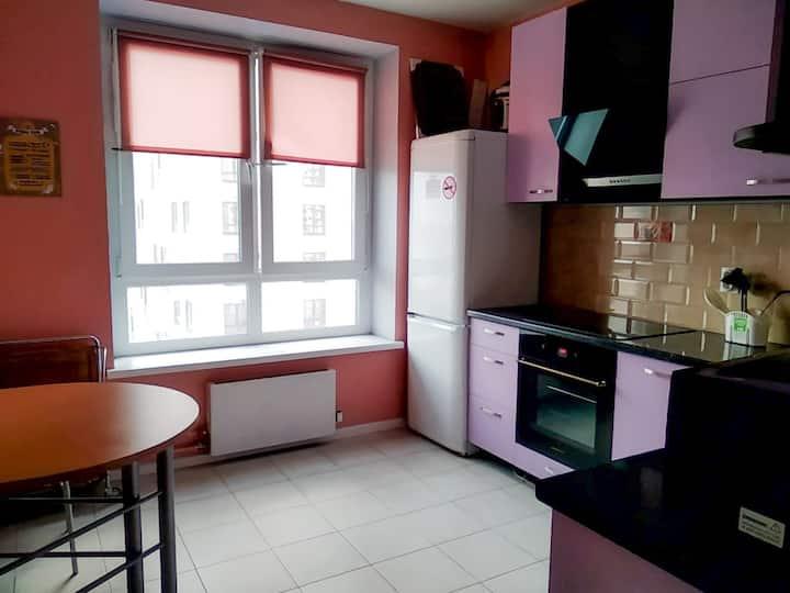 Двухкомнатная квартира с видовыми окнами
