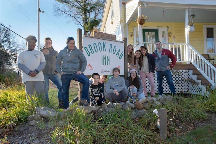 Blue Goose Room #8; Historic Brook Rd Inn