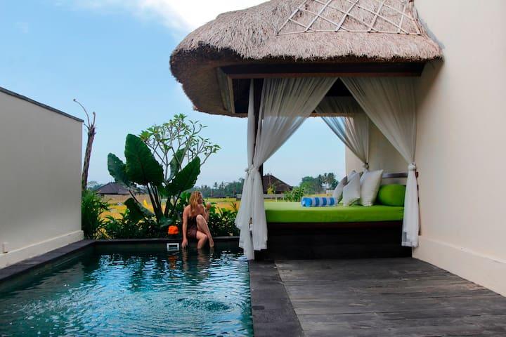 Amazing One Bedroom Private Pool Villa Ubud