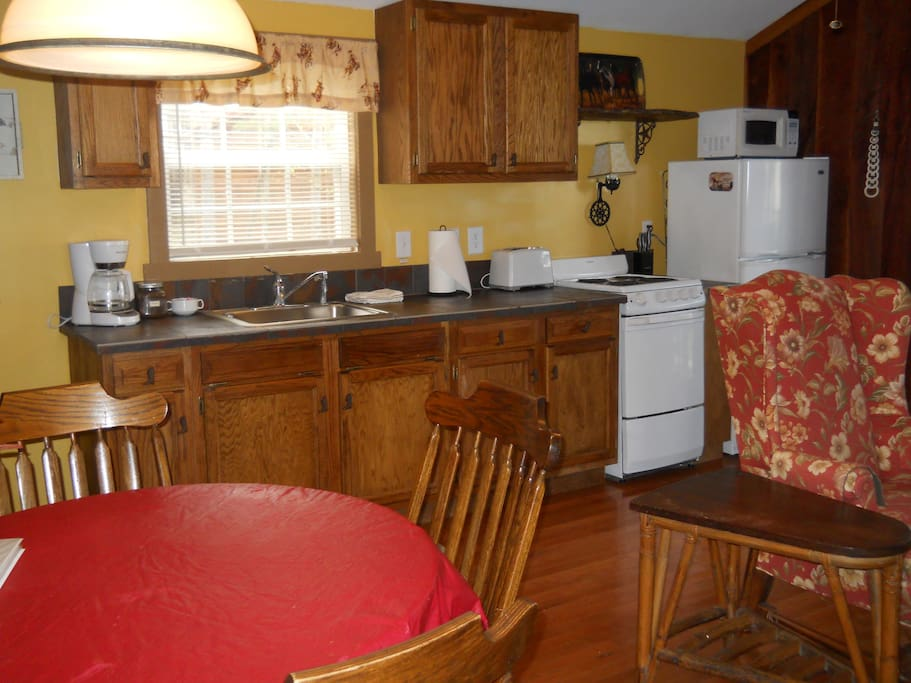 Full Kitchen of Bunkhouse
