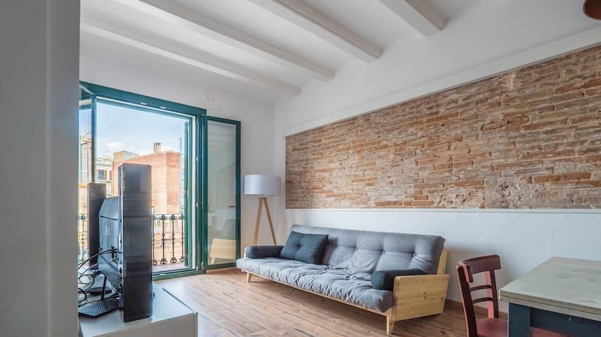 Dreamy&Bright Private Room in Poblenou
