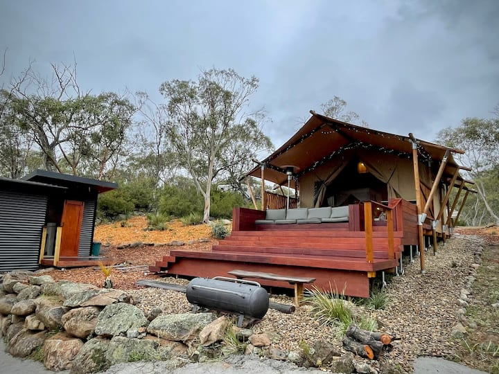 Glamping in the Snowy Mountains, Jindabyne