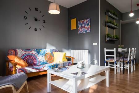 TRIA -APARTAMENTO DE DISEÑO - WIFI - Vigo - 公寓