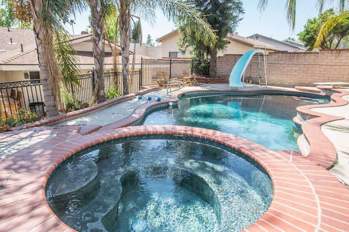 Secluded 4 bed 3 bath pool home - San Fernando - Casa