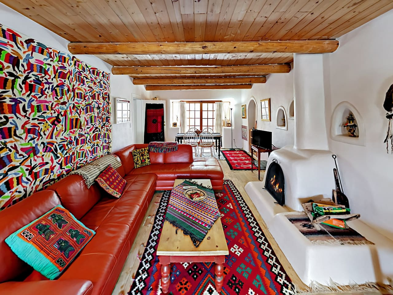 Welcome to Taos! This charming Southwestern abode is professionally managed by TurnKey Vacation Rentals.