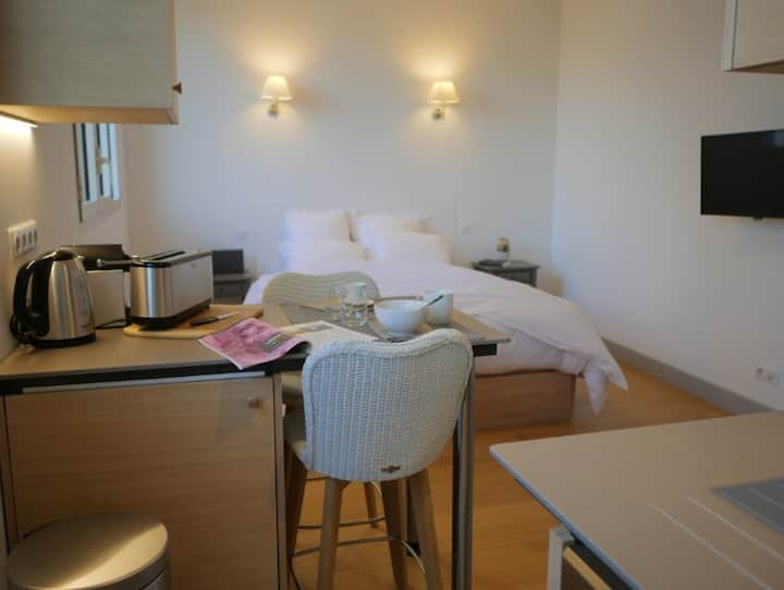 Studio 4* in the center of Tours