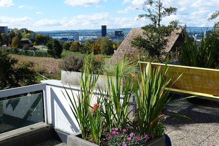 Penthouse Apt. between Zug & Baar: Bright & Quiet