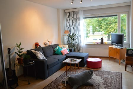 Cozy apartment by Town Hall Park - Lejlighed