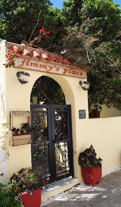 entry to Jimmy's