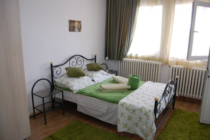 Spacious & chic double room with private bathroom - Eforie Nord - Huis