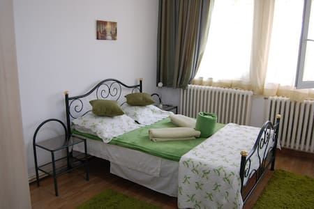 Spacious & chic double room with private bathroom - Eforie Nord - Haus