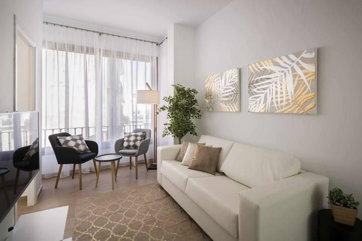 Apartamento suite patio