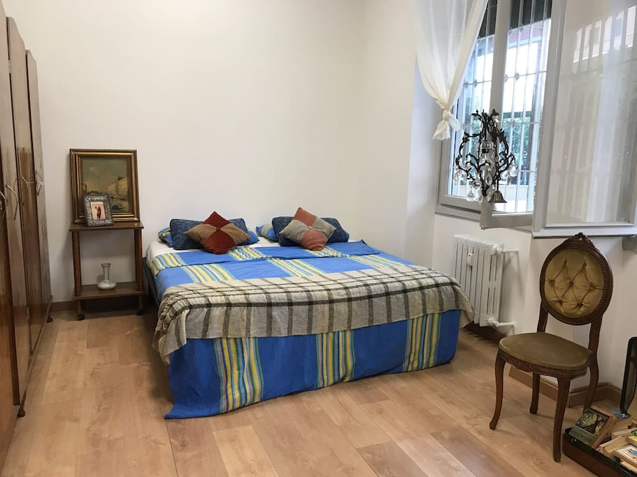 Main 2 bedroom with  Antique Furniture