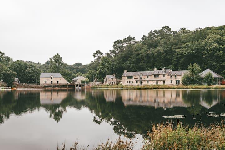 Chalet 4 pers. avec piscine - Morbihan