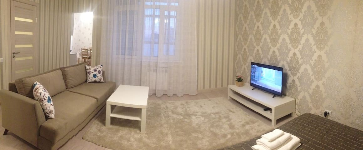 PROMENADE-EXPO apartment - Astana - Suite tamu