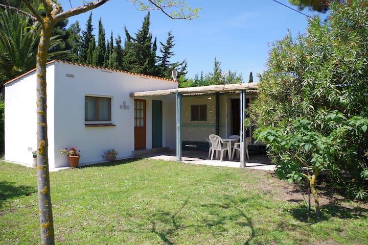 Mobile home indépendant dans joli parc privé - Valras-Plage - Bungalow