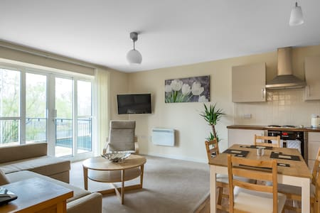 Luxury 2 Bed Riverside Apartment Next To Bedford Hospital - Bedford