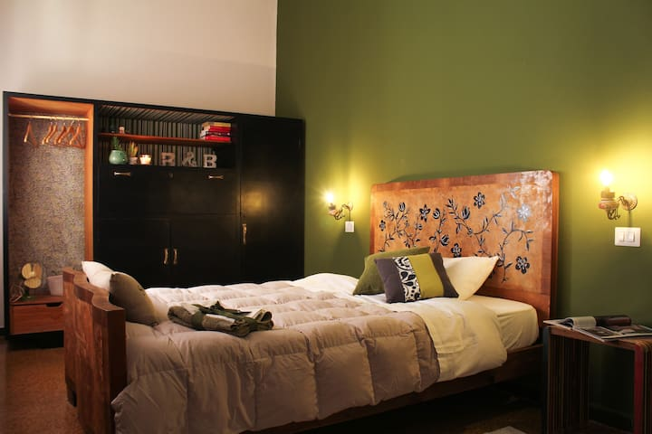 Buen Aire B&B - Green Room - Cagliari - Bed & Breakfast