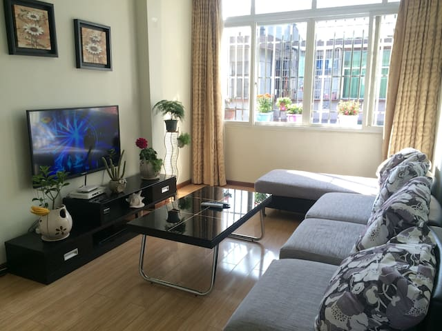 都江堰景区河景房,门口直通车可达青城山 - Chengdu Shi - Apartament