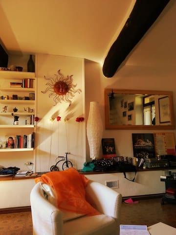 affitto stanza e 2 posti letto - San Colombano Al Lambro - Cabaña