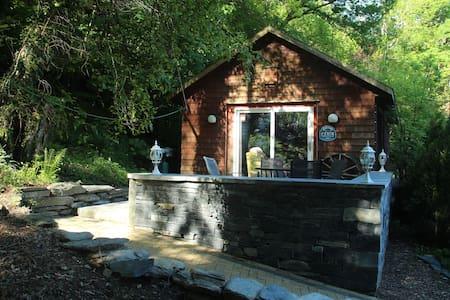 Cedar Cabin in the Woods