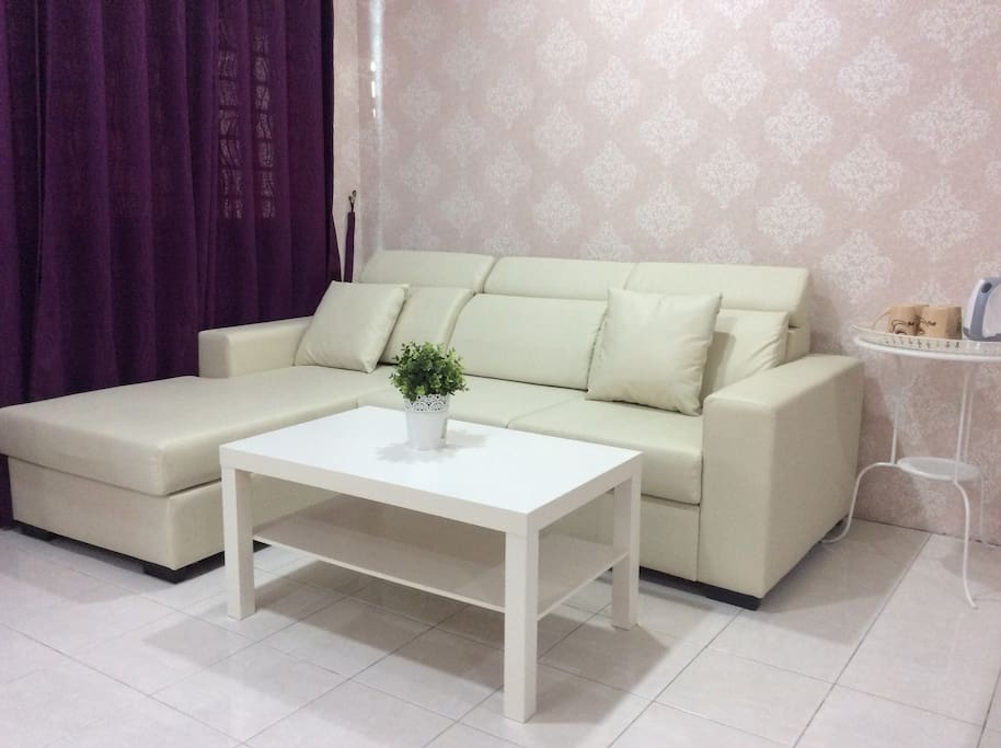 L-shape comfortable  sofa