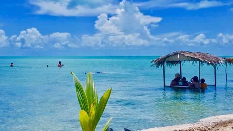 Secret Beach Blue Cabana @ Paradise on Caye