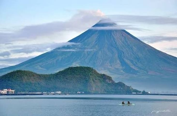 Mayon Albay gulf @ Lion Hill 1 WiFi, Cctv, Cable