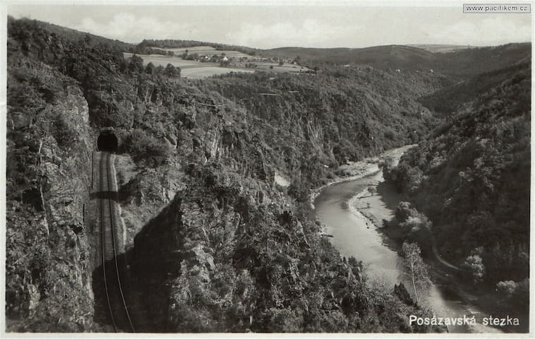 View of the valley in '30's