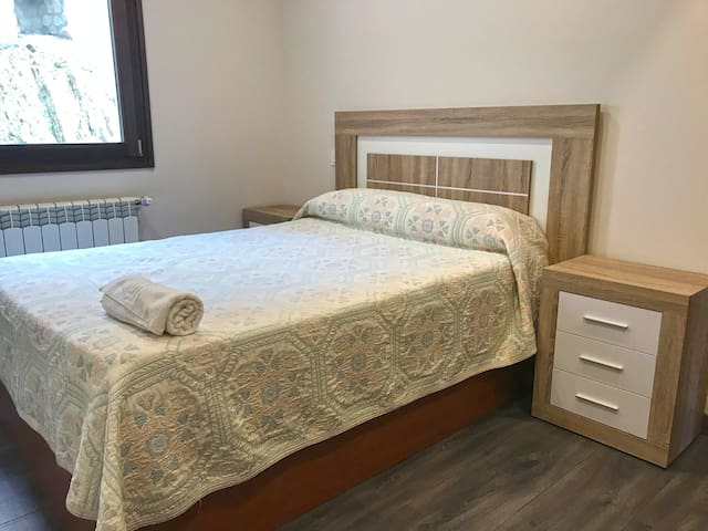 Habitación principal cama matrimonio