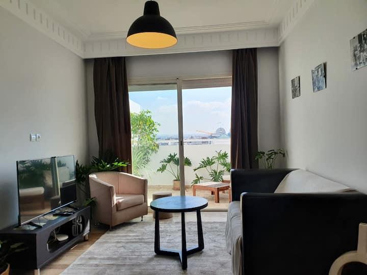 RoofTop cosy appartement sunny terrace Casa Maarif