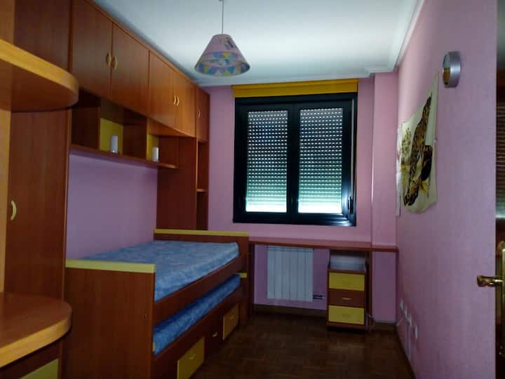 Habitación doble o individual en Salamanca