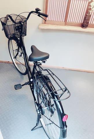 free rental bike (only 1) ご滞在中、無料で1台お使いになれます