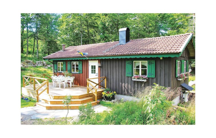 Holiday cottage with 2 bedrooms on 55 m² in Ätran
