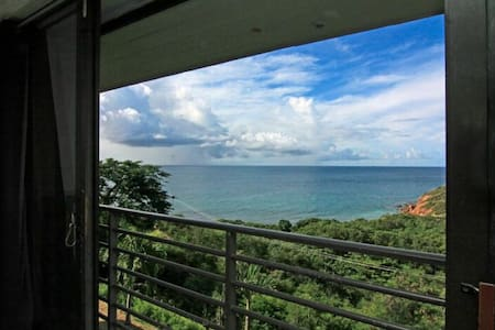 Studio Apartment overlooking Bolongo Bay - 公寓