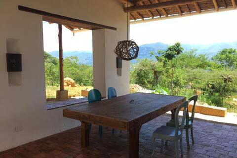 Casa Del Lobo - Ecological finca in Tapia style