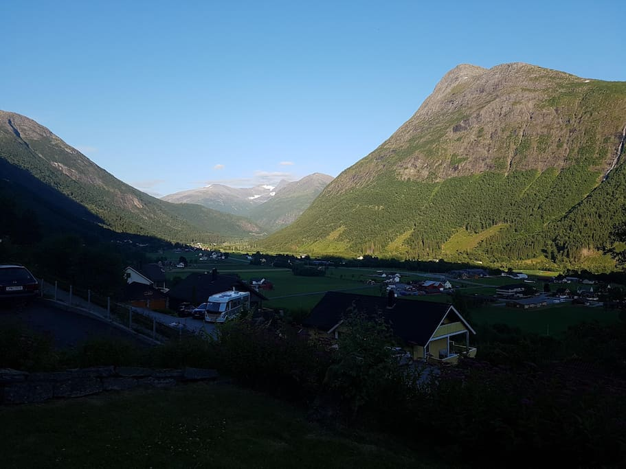 Utsikt mot dalen