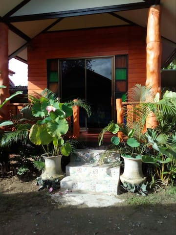Small privat houses in a natural homestay setting