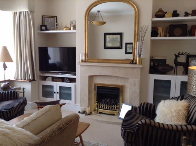 Cosy comfortable lounge