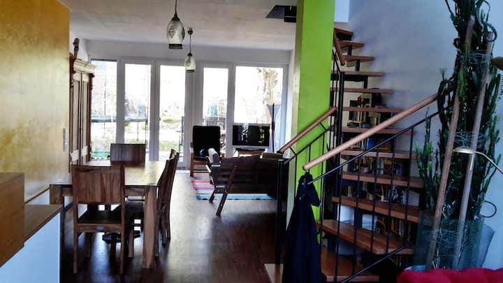 Attraktive Wohnung mit Garten im Freiburg Vauban