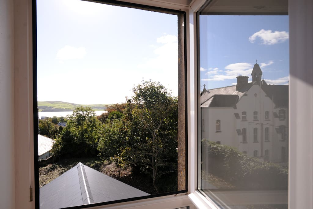 Wake up to the view of Dingle Harbour - from your bed..