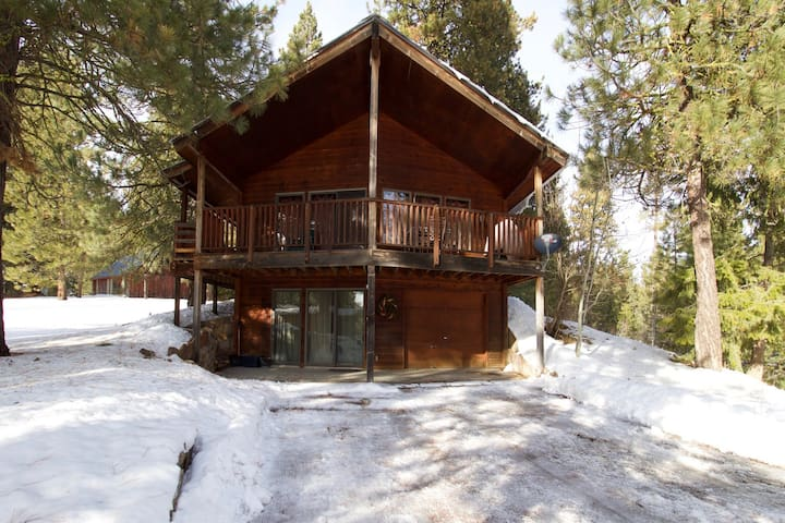 NEW LISTING! Cozy cabin w/ wood stove, cable, and a private foosball table!