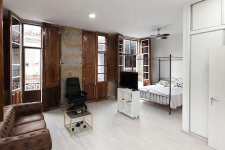 Estudio Vintage con calefaccion y desayuno - Ribadavia - Apartamento