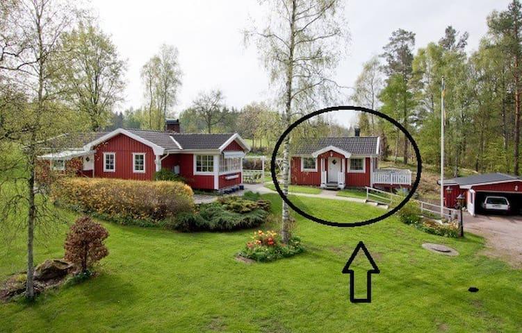 Stuga på landet i södra Sverige - Dönhult - Rumah Tamu