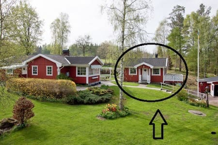 Stuga på landet i södra Sverige - Dönhult - Konukevi