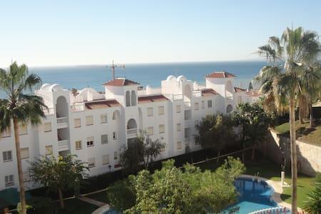 La Cala del Moral,  económico, vistas al mar - Málaga - Daire